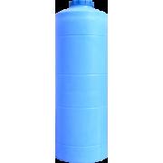Емкость вертикальная круглая 1000л (2220 x d760мм)