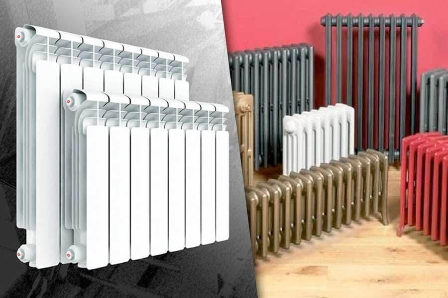 Алюминиевые или чугунные радиаторы: что выбрать?