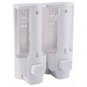 Дозатор жидкого мыла двойной GF (CRM)/S-404