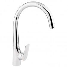 Смеситель для кухни Q-tap Elegance CRM 007F