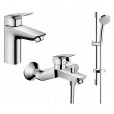 Набор для ванной комнаты Hansgrohe Logis 71400111 (71400000+71100000+27772000)