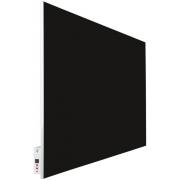 Инфракрасный обогреватель со стеклом Teploceramic SunWay SWG-RA 1000 (9005 черный)