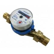 Счетчик холодной воды Novator ЛК-20Х 3/4 со штуцерами