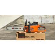 Аккумуляторная цепная пила RUPEZ RCS-40Li (40 Вольт, 4 А/час)