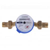 Обзор Счетчик холодной воды ECOSTAR DN15 1/2 L110 E-C 2.5 (000021807)