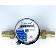 Счетчик воды Gidrotek Е-Т 1,5U для холодной воды со штуцером