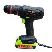 Шуруповерт аккумуляторный Stromo SA 214LI Extra (ударный)
