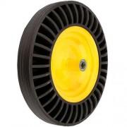 Колесо к тачке каучук 16''x4.00''-8'' для WB9618K Budfix